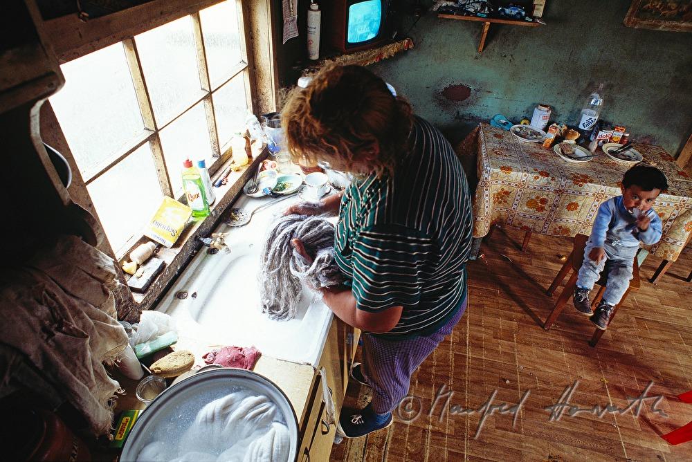 manfred horvath wolle waschen in der k che. Black Bedroom Furniture Sets. Home Design Ideas
